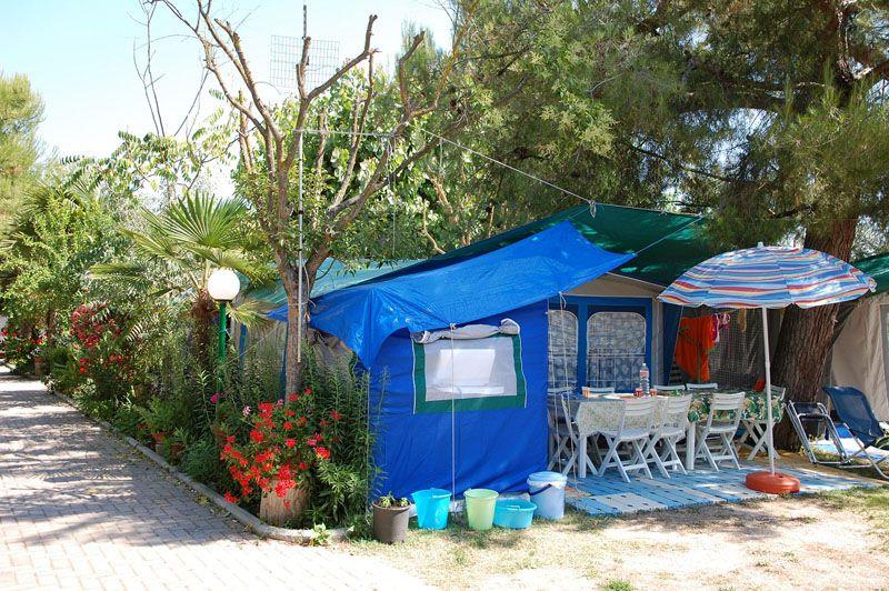 Terrazzo sul Mare, Camping 3 stelle Cupra Marittima, Marche