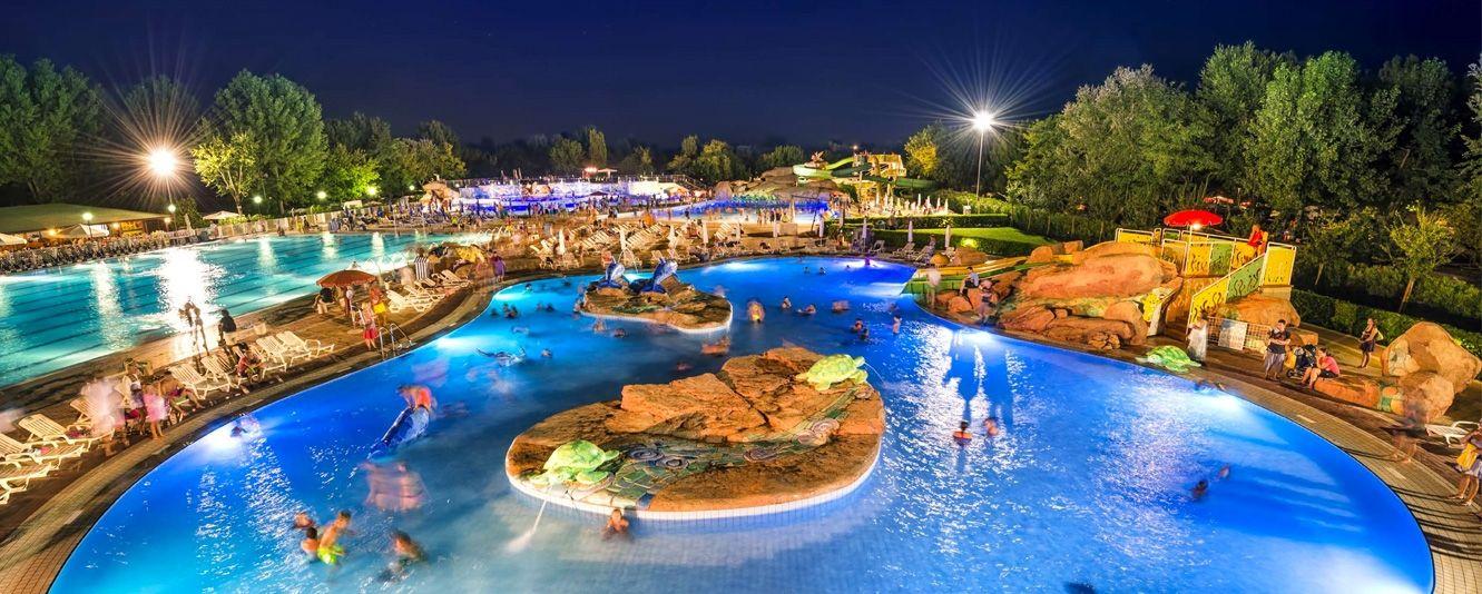Dalla piscina al parco acquatico
