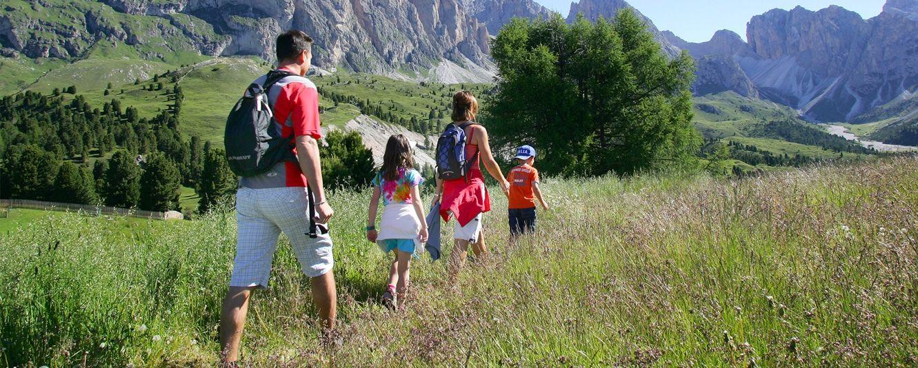 Escursioni con bambini in campeggio